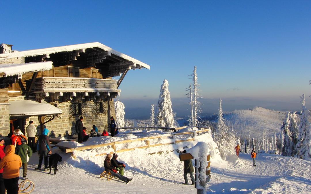 Berghütten im Bayerischen Wald