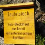 Teufelsloch Lusen Bayerischer Wald