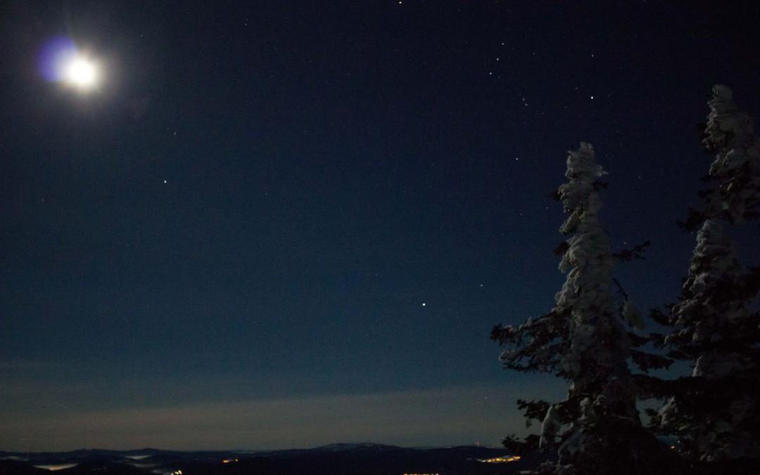 Nachtwanderung auf den Lusen – Kalt, klar, schön