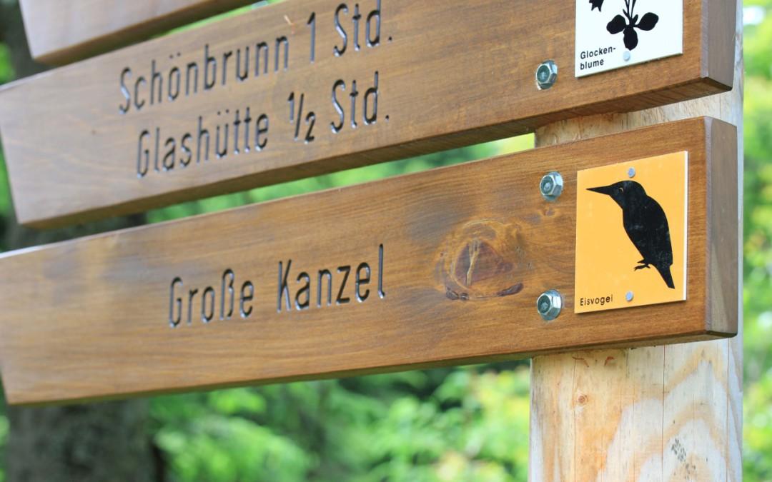 Zur Großen Kanzel im Nationalpark Bayerischer Wald
