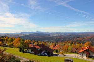 Wandern Bayerischer Wald Herbst