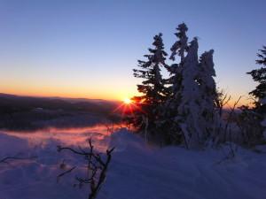 Wandern im Winter im Bayerischen Wald