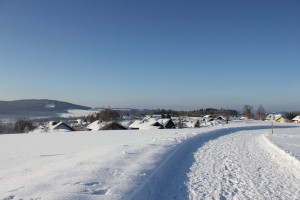 Bayerischer Wald Winter Wandern Neuschönau