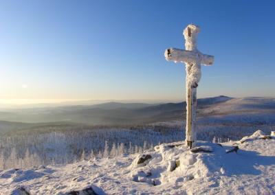 Lusen Winter Bayerischer Wald
