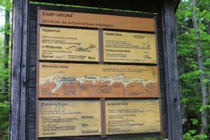 Eiszeit Lehrpfad Bayerischer Wald