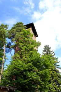 Aussichtsturm Kadernberg Schönberg Bayerischer Wald