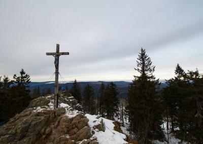 Bayerischer Wald Rachel WInterwandern