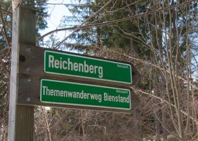 Bienstand Reichenberg Wandern Naturpark