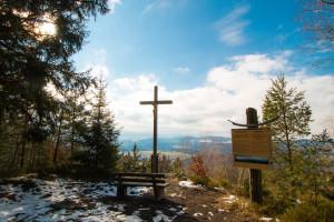 Gipfel Ausblick Wandern Bienstand Bayerischer Wald