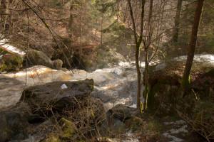Steinklamm Wandern Bayerischer Wald