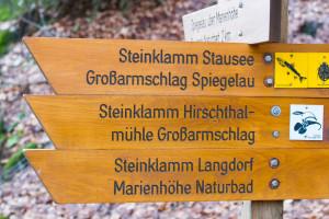 Wandern Steinklamm Spiegelau Bayerischer Wald
