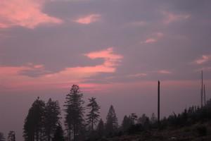 Sonnenuntergang Bayerischer Wald Dreisessel
