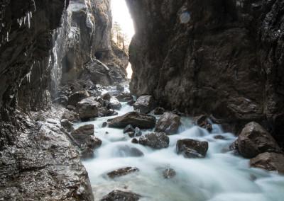 Partnachklamm Garmisch Partenkirchen Wandern