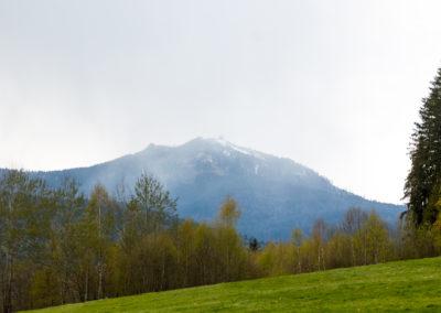 Blick auf den Großen Arber Bayerischer Wald