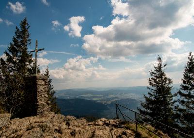 Großer Falkenstein Gipfel Nationalpark Bayerischer Wald