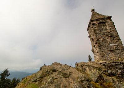 Großer Riedelstein Kaitersberg Bayerischer Wald Wandern
