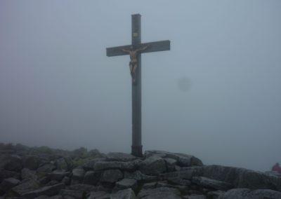 Lusen Nebel Gipfel Bayerischer Wald