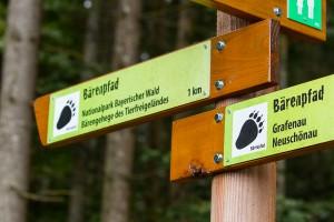 Bärenpfad Neuschönau Grafenau