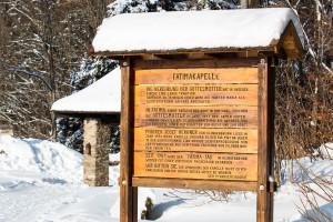 Fatimakapelle Klingenbrunn Bayerischer Wald