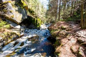 Steinklamm Bayerischer Wald Spiegelau