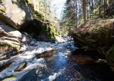 Steinklamm Spiegelau Bayerischer Wald