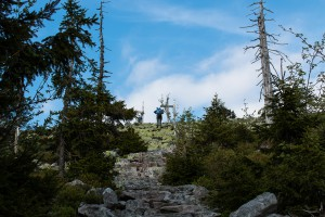 Wandern Himmelsleiter Lusen Bayerischer Wald