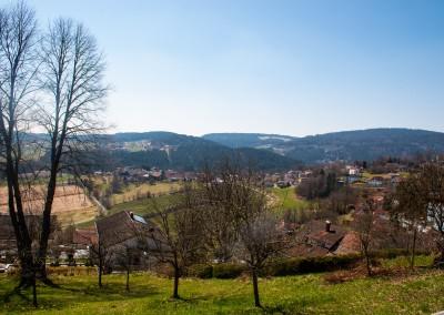 Ausblick Schönberg Bayerischer Wald