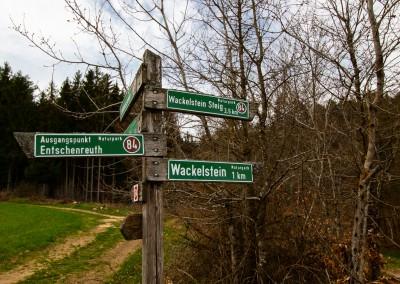 Wandern Wackelstein