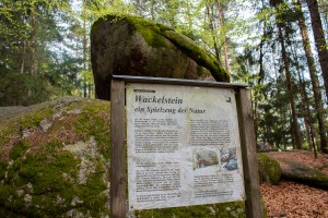 Wackelstein Bayerischer Wald