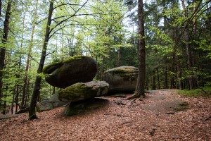 Wandern Bayerischer Wald Wackelstein