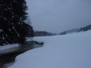 Winterlandschaft Bayerwald