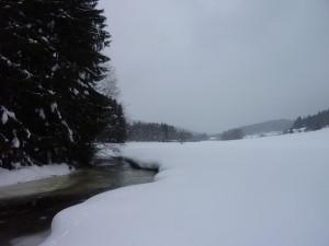 Winterlandschaft in Mauth