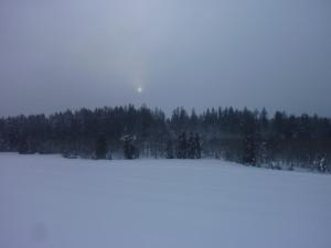 Schneeschuhwanderung in Mauth