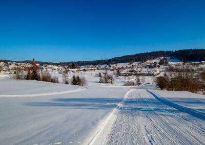 Neuschönau Bayerischer Wald Winter