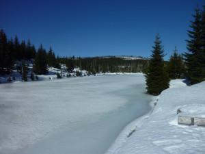 Reschbachklause im Winter