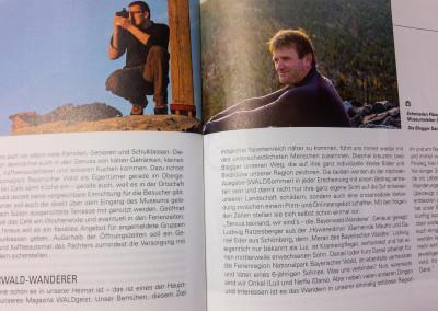 Bayerwald-Wanderer im Magazin Waldgeist