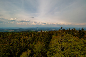 Aussicht vom Brotjacklriegel Bayerischer Wald