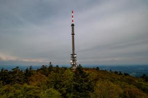 Aussicht auf den Turm Brotjacklriegel